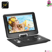 """Cinemuck"" Portable DVD Player - 14"" TFT LED Screen 1280x800 Resolution 16:9"