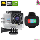 """Trandax"" Q3H Sports Action Camera (Smoke) - 2"" LCD Screen 4K 16MP"