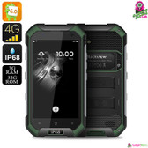 """Dark Titan"" Blackview Rugged Smartphone (Chartreuse) - 4.7"" Gorilla Glass"