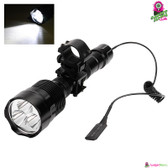 """Lumina"" CREE LED Flashlight - Super-bright 3x CREE XML2 T6 CREE LEDs 1KM Range"