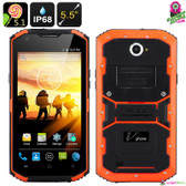 """Thorton"" V Phone X3 Rugged Smartphone (Tiger) - 5.5"" HD Display Quad-core 2GB"