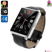 """Harbinger"" No.1 D6 Smartwatch Phone (Silver) - 1.63"" IPS Display WiFi GPS"