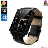 """Harbinger"" No.1 D6 Smartwatch Phone (Onyx) - 1.63"" IPS Display WiFi GPS"