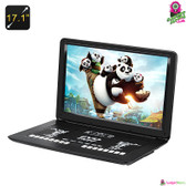 """Sagacious 2"" Portable DVD Player - 17.1"" TFT LED Wide-Screen Anti-shock Region"