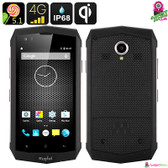 """RhinoX 16"" Rugtel Rugged Smartphone - 4.5"" IPS Display 4G Quad-core CPU 2GB D"
