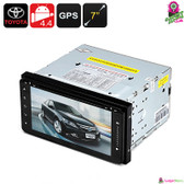 """Spyderp"" Car DVD Player (Toyota) - 7"" Touchscreen 2DIN WiFi Bluetooth GPS MP3"
