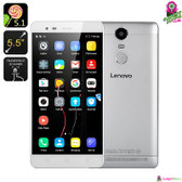 """Lenovo"" K5 Note Smartphone (White) - 5.5"" FHD Octa-core CPU 3GB Dolby Audio"
