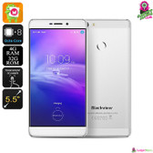 """Sunbinder"" Blackview R7 Smartphone (Silver) - 5.5"" FHD Screen Quad-core 4GB"