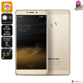 """Sunbinder"" Blackview R7 Smartphone (Champagne) - 5.5"" FHD Screen Quad-core 4GB"