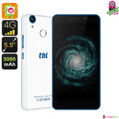 """Chroxis"" THL T9 Smartphone (White) - 5.5"" HD Screen 4G Quad-core 1GB Dual Sim"