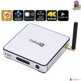 """Dazzlyx"" YokaTV Smart TV Box - 4K Octa-core CPU 2GB Ram HDMI Remote Control"