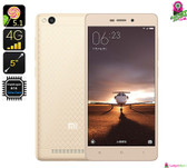 """Xiaomi"" Redmi 3 Smartphone (Gold) - 5"" FHD Display, 4G, Octa-core, 2GB Ram, 13MP Cam, Dual Sim (Android 5.1)"