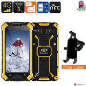 Conquest S6FP IP68 Smartphone (Yellow)