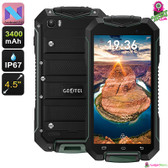 Geotel A1 Rugged Android 7 Smartphone (Green)