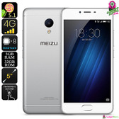 Meizu M3S Android Smartphone (Silver)