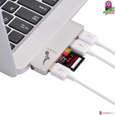 High Speed 5-in-1 USB 3.0 To USB-C Hub