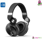 Wireless Headphones Bluedio T2 Plus Turbine - 75mm Driver, Bluetooth