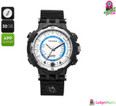 Foxwear FOX8 Outdoor Watch - 5MP Camera, Wi-Fi, iOS + Android App
