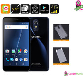 """Geotel Note"" Smartphone (Blue) - 5.5 Inch Display, Quad-core CPU, 3GB Ram, 2 IMEI"