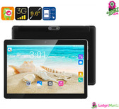 """Specter"" 3G Android Tablet PC - 9.6 Inch HD Display, Android 6.0, Dual-IMEI"