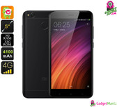 Xiaomi Redmi 4X (Black) - Octa-core CPU, 3GB Ram, 13MP Cam, 4G