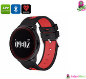 ORDRO CF007 Bluetooth Watch (Red)