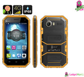 Ken Xin Da W6 Rugged Smartphone (Yellow)