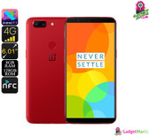 OnePlus 5T Smartphone (Red)
