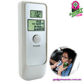 """iBooze"" Digital Alcohol Tester / Breathalyzer - Portable Dual LCD Display 2 Mod"