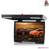 """Glam & Glitz"" Roof Mounted Car Monitor - 15.4"" TFT LCD Monitor IR Transmitter"
