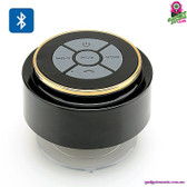 """HydraTune"" Bluetooth Waterproof Speaker - Portable Suction Cup Music Control"