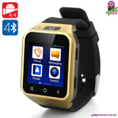 """Josephine Onyx"" SmartPhone Watch (Android) - 1.54"" Display Dual Core CPU 4GB"