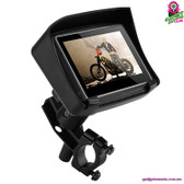 """Mana"" Motorcycle GPS - 4.3"" Touchscreen Bluetooth 8GB Memory IPX7 Waterproof"