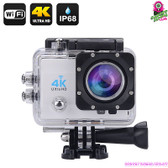 """Masterdrift"" 4K Sports Action Camera (Silver) - 2"" LCD Screen 4K Ultra HD WiFi"