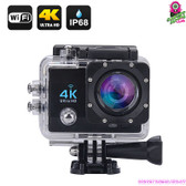 """Masterdrift"" 4K Sports Action Camera (Charcoal) - 2""LCD Screen 4K Ultra HD WiFi"