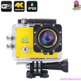 """Masterdrift"" 4K Sports Action Camera (Dorado) - 2""LCD Screen 4K Ultra HD WiFi"