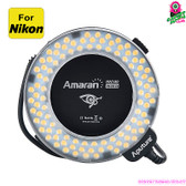"""Sparklesight"" Amaran Halo LED Flashlight (Nikon DSLR) - CRI 95+ 8 Ring Mounts"