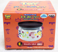 Disney Pixar Toy Story Glass Candy Pot Banpresto JAPAN ANIME