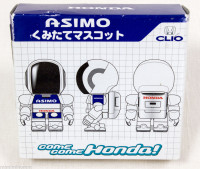 HONDA Asimo Mascot Model Kit Figure Blue Robot Android BANDAI JAPAN