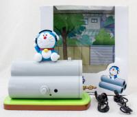 Doraemon w/Clay Pipe Figure Stereo Speaker USB/Battery Powered JAPAN ANIME MANGA