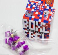 BOXLEBEL Famicom Character Figure Key Chain Family Stadium Namco JAPAN NES