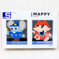 Mappy Dots .A Set S Puzzle Pin Panel Toy Tomytec JAPAN FAMICOM NES