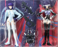 Ghost in the Shell Motoko Kusanagi Figure Hard Disk & White Out Set ALPHA JAPAN