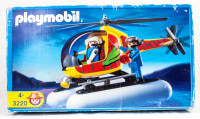 Playmobil 3220 Helicopter with Utility Floats