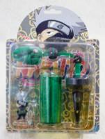 NARUTO Kakashi Hatake Figure Neck Strap w/Soap Bubble Case JAPAN ANIME MANGA