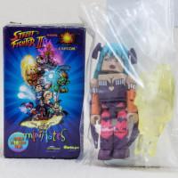 Street Fighter II 2 Vampire Savior Morrigan Blue Mini Mates Figure Capcom JAPAN