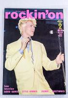 Rockin' On Japan Rock Music Magazine 02/1985 David Bowie/Aztec Camera/Prince