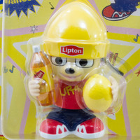RARE! Parappa The Rapper WInd-Up Mini Dancing Figure Lipton Limted JAPAN GAME