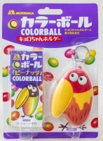 Kyoro-Chan Colorball Choco Ball Holder Case Key Chain Morinaga JAPAN ANIME MANGA