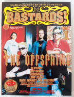 2001 Vol.1 BASTARDS! BURRN! Japan Magazine THE OFFSPRING/SLIPKNOT/GODSMACK/